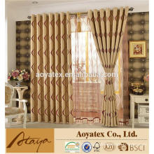 100% polyester vertical black out curtain