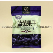 SGS genehmigter China-Lieferant nehmen Kundenauftrags- und Snack-Reißverschluss-Nahrungsmittelplastiktasche an