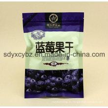 El surtidor aprobado de SGS China acepta la bolsa de plástico de encargo de la orden y del bocado de la cremallera