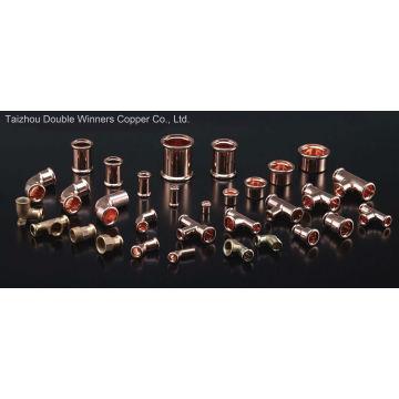 Presse en cuivre à sertir avec homologation Dvgw