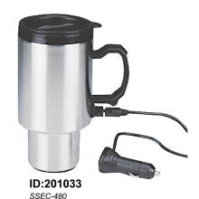 Stainless Steel Vacuum Double Wall Auto Car Mugs New Ssec-480