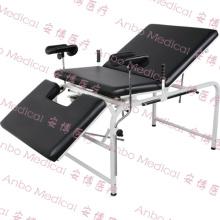 Lit d'examen gynécologique manuel d'hôpital de haute qualité