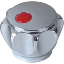 Manija del grifo en plástico ABS con acabado en cromo (JY-3006)