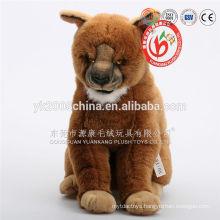 2016 OEM tiger animal plush toys wholesale