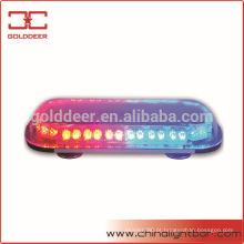 Barra de LED vermelho/azul aviso Mini multi-tensão para o carro da polícia (TBD696D-20f)