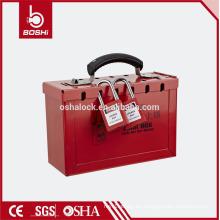 BD-X01 / 02 BRADY Kit de cierre de seguridad de acero portátil de venta caliente, kit de bloqueo de interruptor