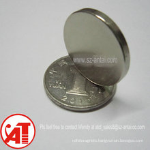 D20X2mm disc magnet / neodymium disc magnets / N35 disc magnets dia.20x2mm