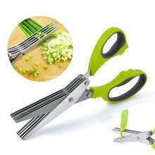 Multi-function kitchen onion scissors
