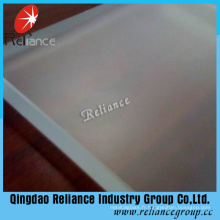 Clear Acid Etched Glass / Acid Frost Glass