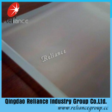 4mm/5mm/6mm/8mm/10mm Clear Acid Glass / Acid Etched Glass / Frosted Glass / Foggy Glass / Bathroom Door Glass / Partition Wall Glass