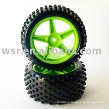 Neumático de goma RC por coche de carreras