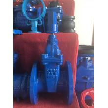 rubber seal gate valve