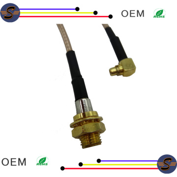 SSMA female to MMCX plug cable