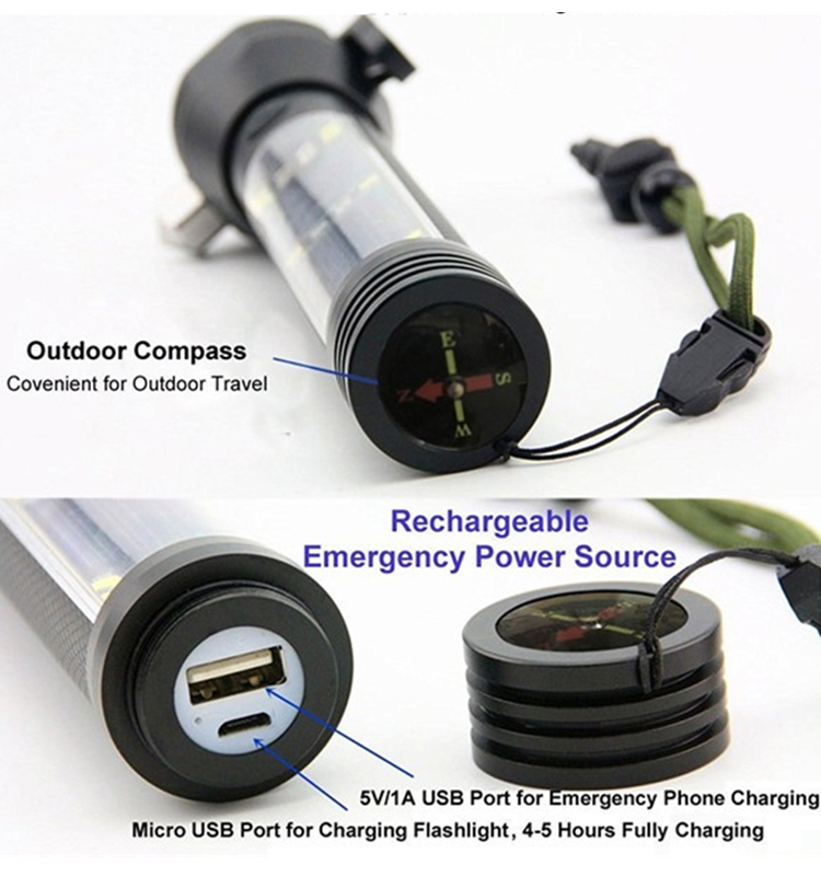 Powerful rechargeable flashlight