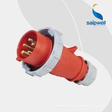 SAIP industriel, prise 5 broches, prise électrique 250V, interrupteurs et prise, IP44