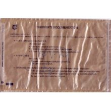UPS zipper Packing list envelope