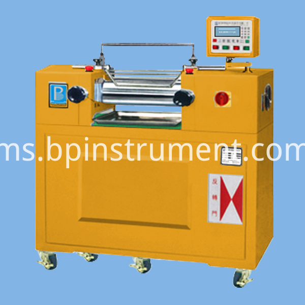 Oil Heating Water Cooling Lab Two Roll Mill
