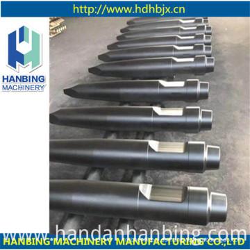 Herramientas cónicas de cincel de martillo rompedor hidráulico