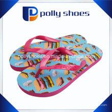 2016 Nouveau Design Casual Flats Femmes Flip Flop Bonbons Couleur