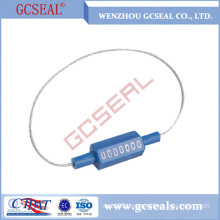 GCC1802 printed cable seal with plastic coated