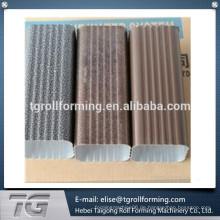 Hochwertige Stahl- / Aluminium-Rohrrollen-Umformmaschine für Downspout-Winkelstück mit konkurrenzfähigem Preis
