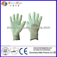 3/4 grey nitrile coated glove