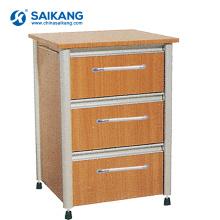 Armário de cabeceira de madeira chinesa da sala de visitas SKS011