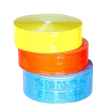 color high visibility PVC adhesive reflective tape