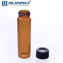 Fertigung 40ML Amber EPA VOA Glasfläschchen mit Borosilikatglas