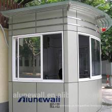 Alunewall melhor venda de aço inoxidável e painel composto de alumínio com largura máxima de 2 metros