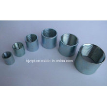 Black and Galvanzied Female Coupling Pipe Fittings