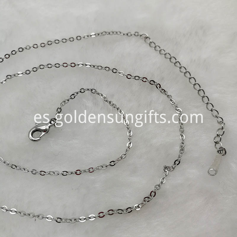 O Word Chain Necklace