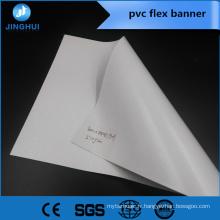 bannière Flex rétro-éclairée laminée à froid 550g pour application publicitaire extérieure
