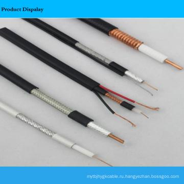 Коаксиальный кабель и гибкий круглый многожильный кабель
