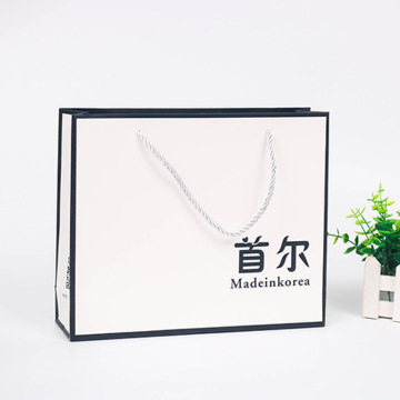 Recycled Custom Design Luxury Shopping Paper Bag