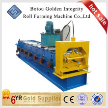 Trapezoidal Profile metal roof ridge cap roll forming machine, Corrugated Metal Roof Roll Forming Machine JCX