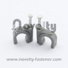 Nail Cable Clip(Square with Black)