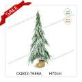 H50-60cm Mini saphir artificiel fait à la main Ornement d'arbre de Noël PE