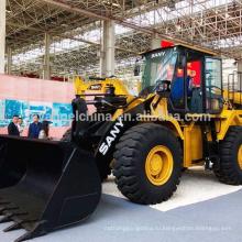 Горячая Продажа китайского автокрана 5 тонн колесный погрузчик/ Фронтальный погрузчик 956 модель с ковшом 3м3
