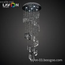 modern led crystal chandelier for sale