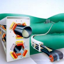 Ske 3000tph Pipe Belt Conveyor for Bulk Material Handling