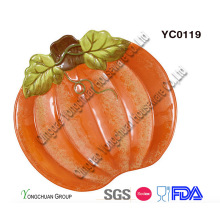 Decorative Ceramic Pumpkin Baking Pan for Wholesale