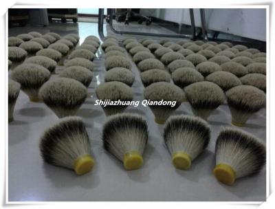 silvertip badger hair knots5