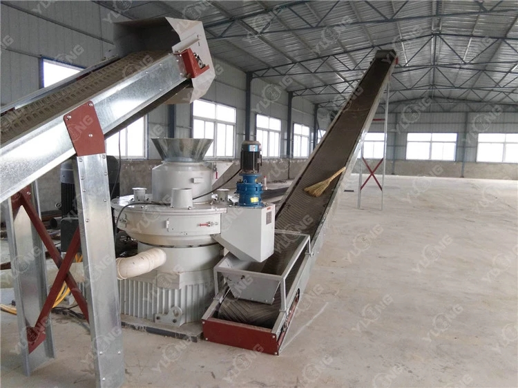 wood pellet energy saving machine