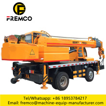 Used Truck Crane For Sale 2017 Orange Color