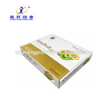 Cajas de empaquetado modificadas para requisitos particulares del cartón de la fruta con buena capacidad del transporte