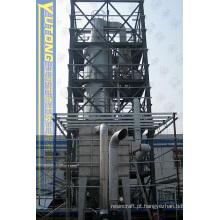 Máquina de secagem por pulverização de pressão de resina