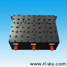 100W 885-934 MHz SMA-F tipo de conector RF Duplexor fabricante GSM_R Duplexor