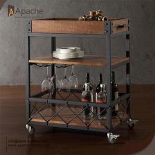 Trending Products for Wine Displays Wine Serving-Cart Trolley For Restaurant supply to Wallis And Futuna Islands Exporter