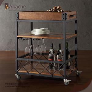 Wine Serving-Cart Trolley For Restaurant